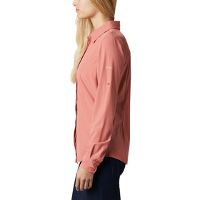 Columbia Saturday Trail Stretch Longsleeve Shirt Women dark coral
